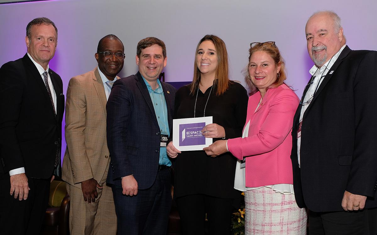 Airudi remporte la palme d'or au concours entrepreneurial de l'Espace Saint-Michel